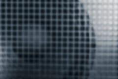 扩音器和格栅,作为力量Amp抽象迷离背景  免版税库存图片