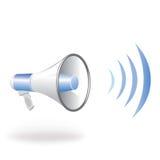 扩音器 向量例证