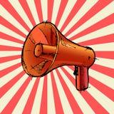 扩音机或扩音器 免版税库存照片