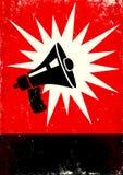 扩音机 免版税库存照片
