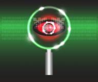 扫描病毒 免版税图库摄影