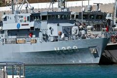 扫雷艇土耳其 免版税图库摄影