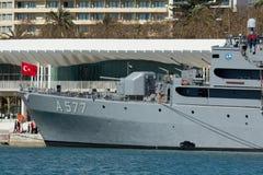 扫雷艇土耳其 免版税库存照片