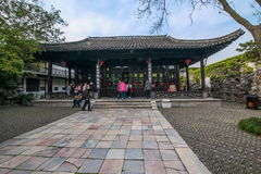扬州& x22; 在清宫Dynasty& x22末期的第一个公园;- Ho公园大厦 库存照片
