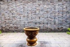 扬州& x22; 在清宫Dynasty& x22末期的第一个公园;- Ho公园大厦 免版税库存照片