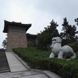 扬州Liuxu坟茔 免版税库存照片