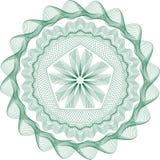 扭索状装饰模式玫瑰华饰 免版税库存图片