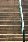 扶手栏杆步骤 免版税库存照片