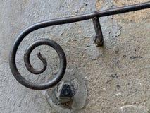 扶手栏杆 免版税库存照片