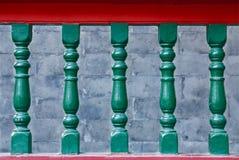 扶手栏杆 免版税库存图片