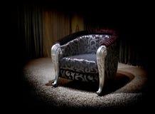 扶手椅子丁香 库存照片