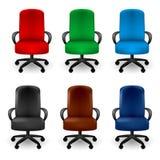 扶手椅子办公室 图库摄影