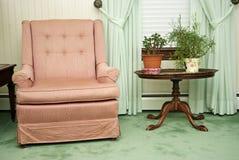 扶手椅子客厅 库存图片