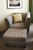 扶手椅子无背长椅 免版税库存照片