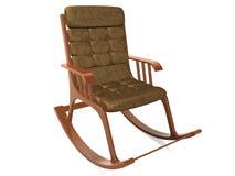 扶手椅子晃动的椅子 免版税库存照片