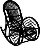 扶手椅子晃动的椅子 库存照片