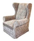 扶手椅子灰色 免版税库存照片