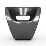扶手椅子灰色 免版税库存图片