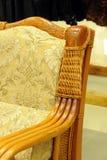 扶手椅子片段 免版税库存照片