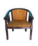 扶手椅子现代木 免版税库存图片