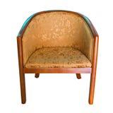 扶手椅子现代木 库存照片