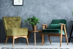 扶手椅子现代二 免版税图库摄影