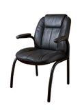 扶手椅子皮革 库存图片