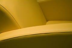 扶手椅子皮革 库存照片