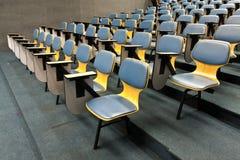 扶手椅子离开空间被掀动 免版税库存图片