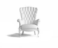 扶手椅子空白 图库摄影