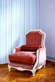 扶手椅子红色 库存图片