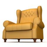 扶手椅子经典之作 库存例证
