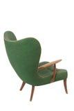 扶手椅子绿色减速火箭 免版税库存照片