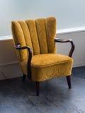 扶手椅子老减速火箭 免版税图库摄影
