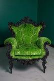 扶手椅子葡萄酒 库存照片