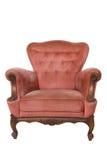 扶手椅子豪华红色 免版税图库摄影