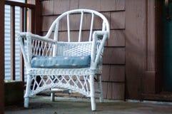 扶手椅子门廊 库存图片