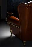 扶手椅子雪茄 免版税库存图片