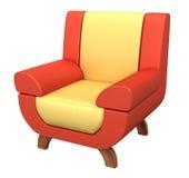 扶手椅子 皇族释放例证