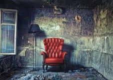 扶手椅子luxure 免版税图库摄影