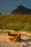 扶手椅子seaview 图库摄影
