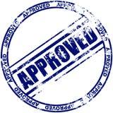批准的不加考虑表赞同的人 免版税库存照片