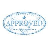 批准的印花税 免版税库存图片