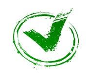 批准的符号 免版税库存图片