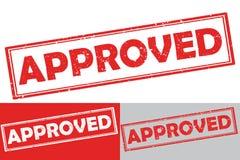 批准-不加考虑表赞同的人/label 库存照片