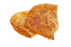 批早餐-肉馅饼 免版税图库摄影