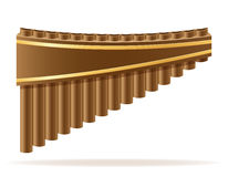 批评长笛风乐器储蓄传染媒介例证 免版税库存照片