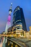 634找出米天空sumida东京塔结构树电视病区 世界` s最高的独立通信 库存照片