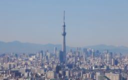 634找出米天空sumida东京塔结构树电视病区 库存图片