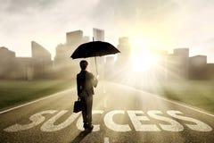寻找成功的保险代理公司 库存照片